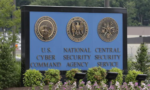A sign of US security agency